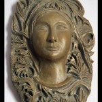 Bas relief - Argile et patine