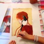 Acrylique (Tessa, 9 ans)