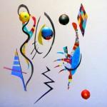 Mobile inspiré de Kandinsky