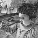 """""""Le Rêve"""" crayon"""