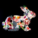 """""""Lapin de Pâques"""" collage (atelier 2/5 ans)"""